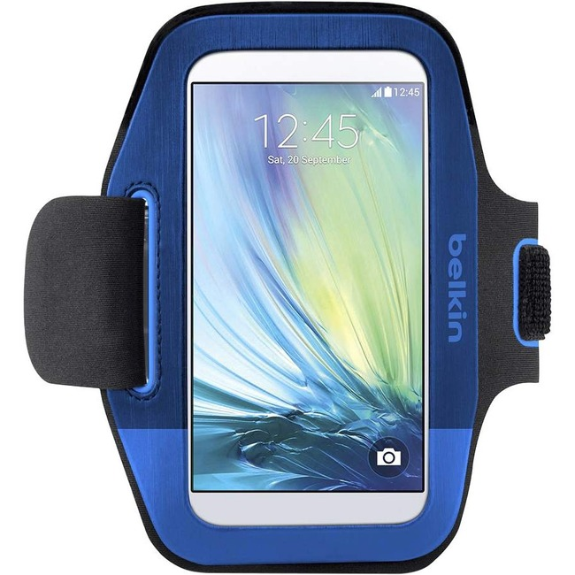 Belkin Sport-Fit Carrying Case (Armband) for Smartphone - Topaz