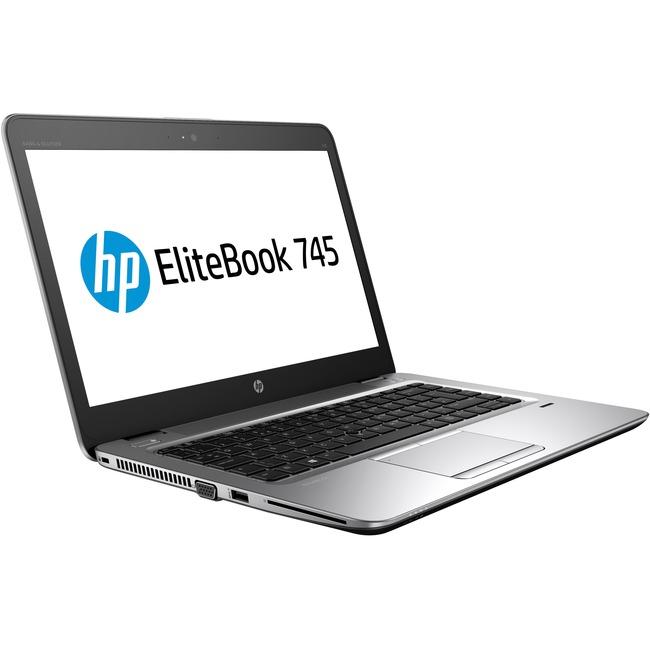 "HP EliteBook 745 G3 14"" Notebook - AMD A-Series A10-8700B Quad-core (4 Core) 1.80 GHz - 8 GB DDR3L SDRAM - 180 GB SSD -"