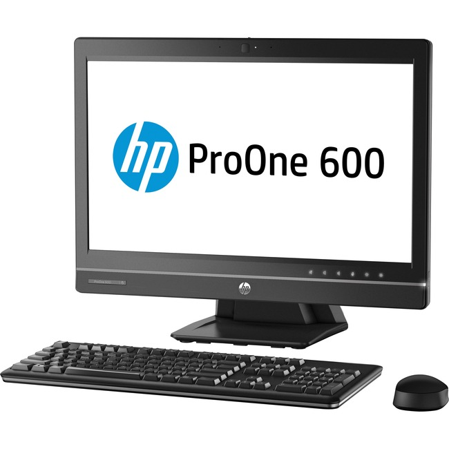 HP Business Desktop ProOne 600 G1 All-in-One Computer - Intel Core i5 (4th Gen) i5-4590S 3 GHz - 8 GB DDR3 SDRAM - 21.5""
