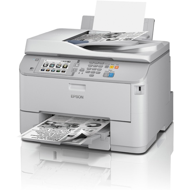Epson WorkForce Pro WF-M5694 Inkjet Multifunction Printer - Monochrome - Plain Paper Print - Desktop
