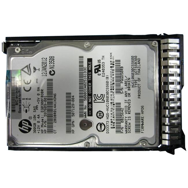 "HPE 300 GB Hard Drive - 2.5"" Internal - SAS (6Gb/s SAS)"