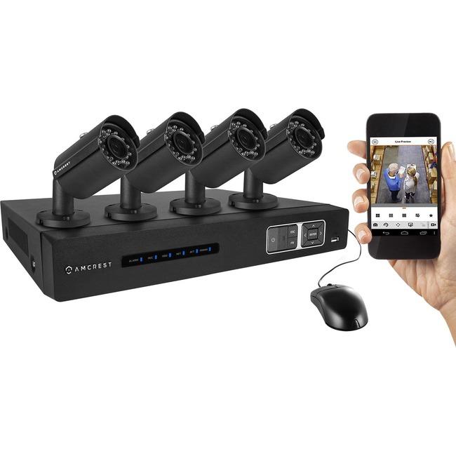 Amcrest Tribrid AMDV7204M-4B-B Video Surveillance System