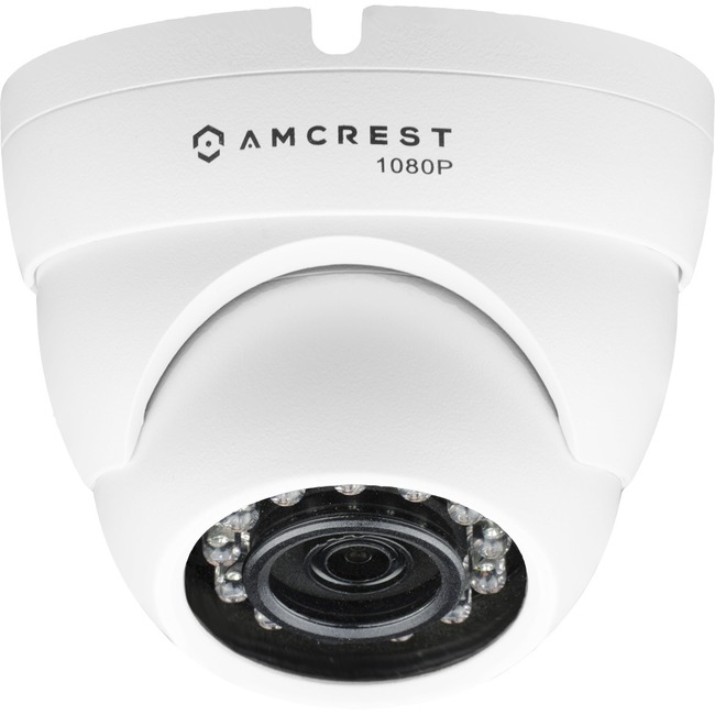 Amcrest AMC1080DM36-W 2.1 Megapixel Surveillance Camera - 1 Pack - Color
