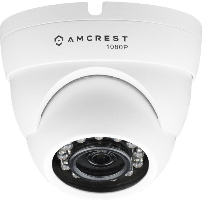 Amcrest AMC720DM28-W 1 Megapixel Surveillance Camera - 1 Pack - Color, Monochrome