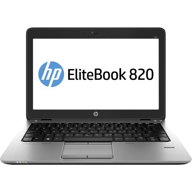 """HP EliteBook 820 12.5"""" Notebook - Intel Core i7 (6th Gen) i7-6600U Dual-core (2 Core) 2.60 GHz - 8 GB - 256 GB SSD"""