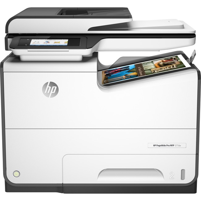 HP PageWide Pro 577dw Page Wide Array Multifunction Printer - Color - Plain Paper Print - Desktop
