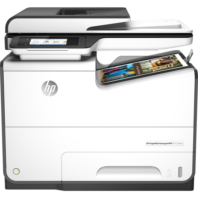 HP PageWide Managed P57750dw Page Wide Array Multifunction Printer - Color - Plain Paper Print - Desktop