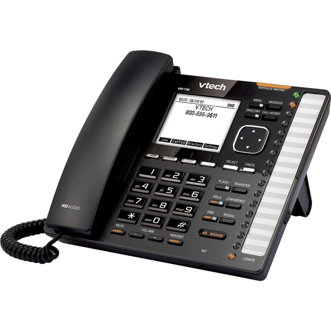 VTech ErisTerminal VSP736 IP Phone - Wireless - DECT 6.0