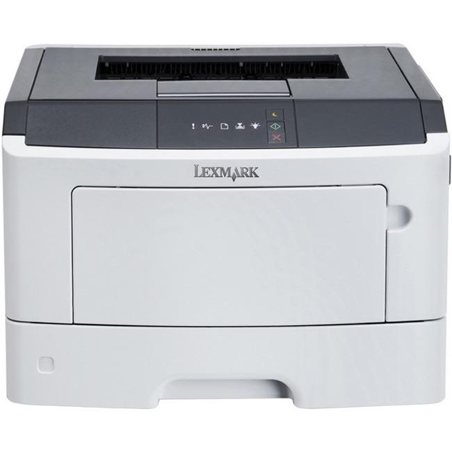 Lexmark MS312DN Laser Printer - Monochrome - 1200 x 1200 dpi Print - Plain Paper Print - Desktop