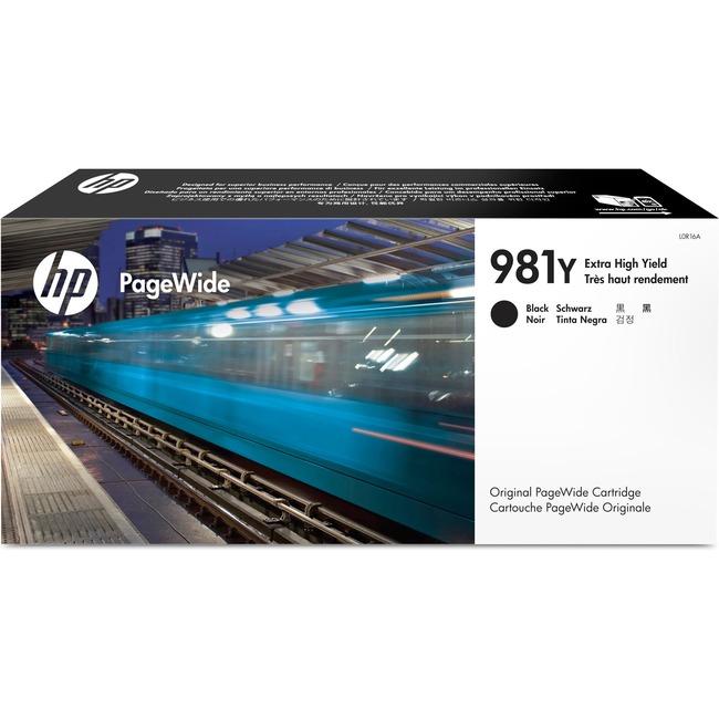 HP INC. - INK 981Y BLACK ORIGINAL PAGEWIDE CARTRIDGE