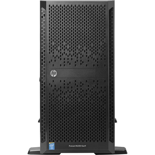 HP ProLiant ML350 G9 5U Tower Server | 1 x Intel Xeon E5-2609 v4 Octa-core (8 Core) 1.70 GHz | 8 GB Installed DDR4 SDRAM | Serial ATA/600 Controller | 0, 1, 5, 10 RAID Levels | 1 x 500 W