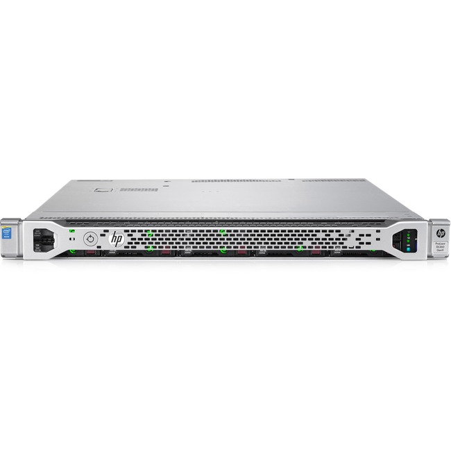 HP ProLiant DL360 G9 1U Rack Server | 1 x Intel Xeon E5-2603 v4 Hexa-core (6 Core) 1.70 GHz | 8 GB Installed DDR4 SDRAM | 12Gb/s SAS Controller | 1 x 500 W