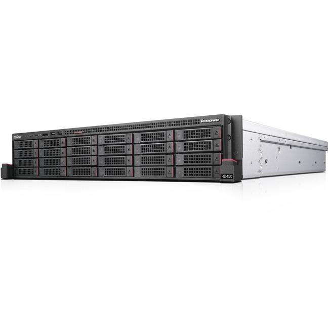 Lenovo ThinkServer RD450 70QQ0014UX 2U Rack Server   1 x Intel Xeon E5-2609 v4 Octa-core (8 Core) 1.70 GHz   16 GB Installed DDR4 SDRAM   750 W