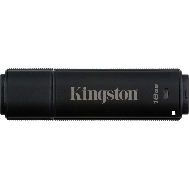 Kingston DataTraveler 4000 G2 16 GB USB 3.0 Flash Drive - 256-bit AES
