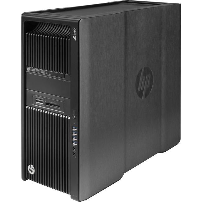 HP Z840 Convertible Mini-tower Workstation - 2 x Processors Supported - 1 x Intel Xeon E5-2620 v4 Octa-core (8 Core) 2.1