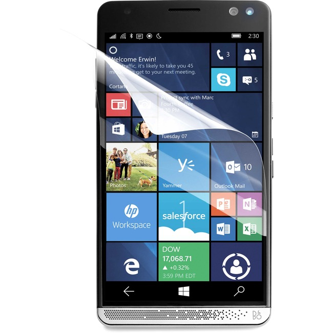 HP Elite x3 Anti-Fingerprint Screen Protector (3-pack)