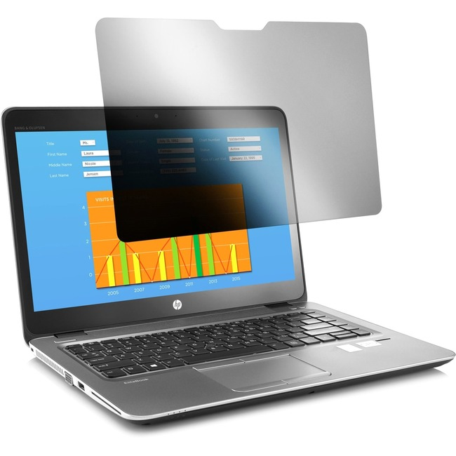 HP 15.6 Notebook Privacy Filter Designed by 3M