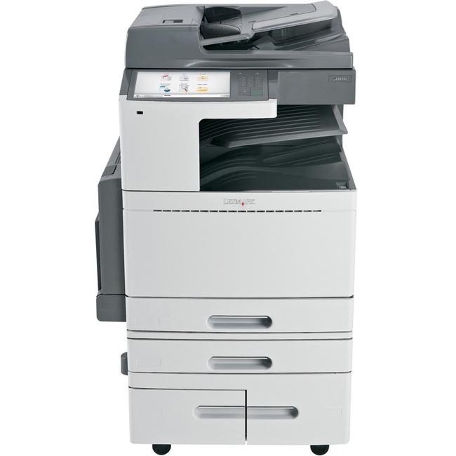 Lexmark X852e MFP Printer network scan Mac