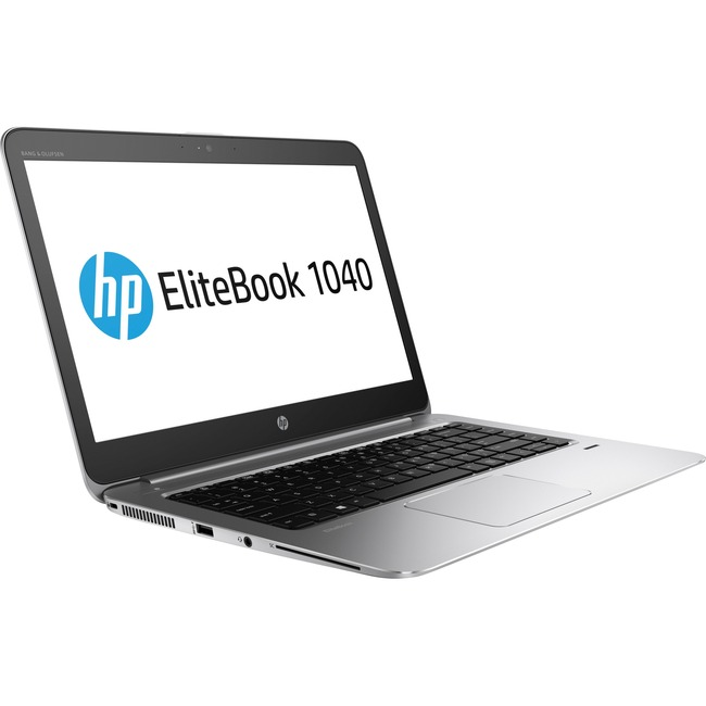 "HP EliteBook 1040 G3 14"" Notebook - Intel Core i5 (6th Gen) i5-6300U Dual-core (2 Core) 2.40 GHz - 8 GB DDR4 SDRAM - 256"