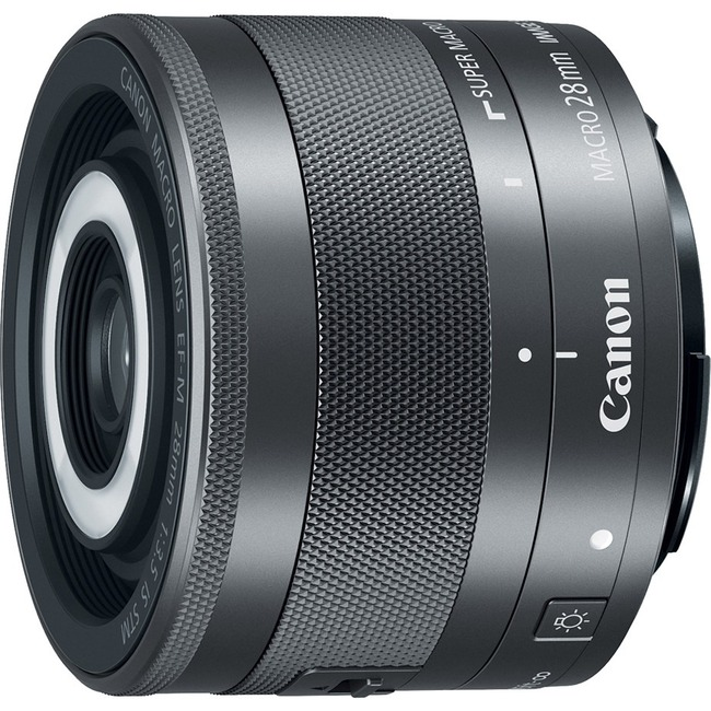 Canon - 28 mm - f/3.5 - Fixed Focal Length Lens for Canon EF-M