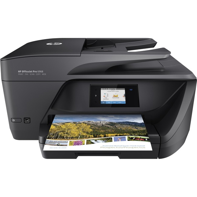 HP Officejet Pro 6968 Inkjet Multifunction Printer - Plain Paper Print
