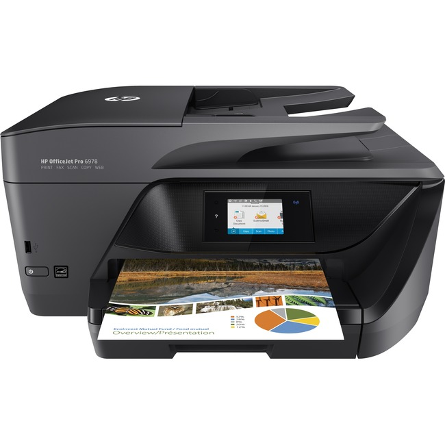 HP Officejet Pro 6978 Inkjet Multifunction Printer - Color - Plain Paper Print - Desktop