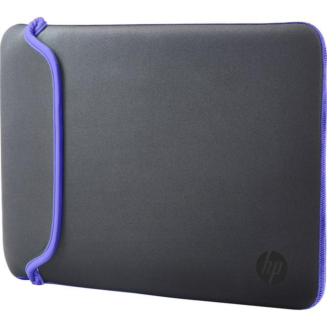 HP 15.6 Gray/Purple Neoprene Sleeve,1-year limited warranty