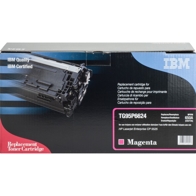 IBM Remanufactured Toner Cartridge - Alternative for HP 650A (CE2736A)
