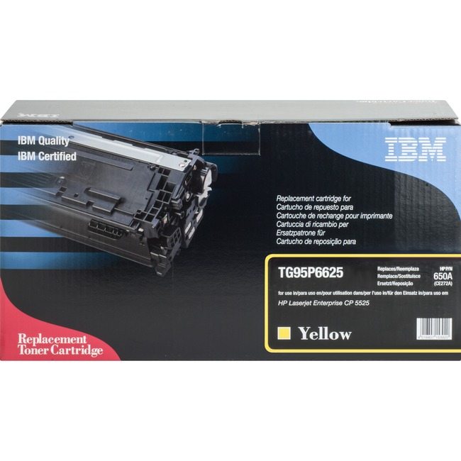IBM Remanufactured Toner Cartridge - Alternative for HP 650A (CE272A)