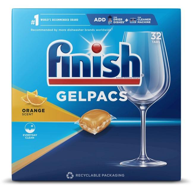 Finish Dishwasher Gel Packs