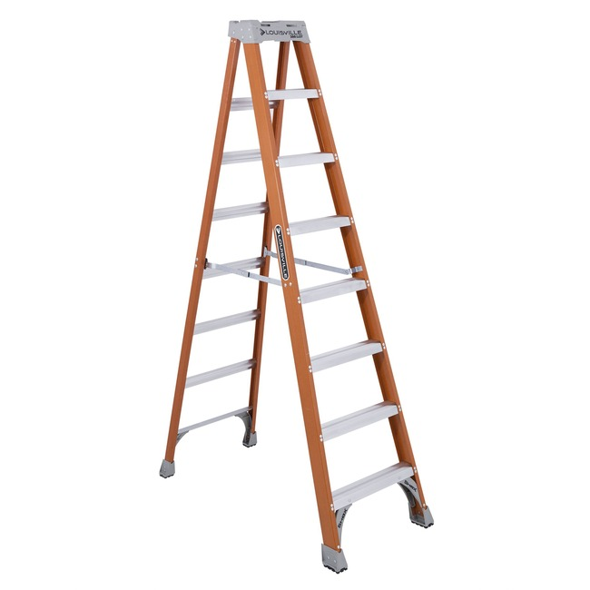 Louisville 8' Fiberglass Step Ladder