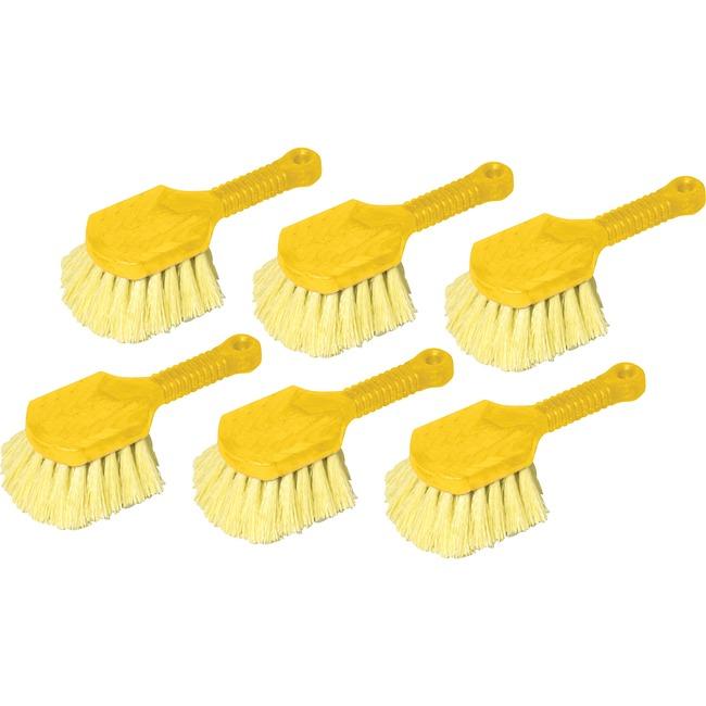 Rubbermaid Commercial Short Handle Utility Brush