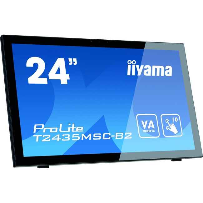 iiyama ProLite T2435MSC-B2 60 cm 23.6inch LCD Touchscreen Monitor - 16:9 - 6 ms