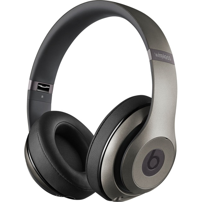 Beats by Dr  Dre Studio Wireless Over-Ear Headphones - Titanium