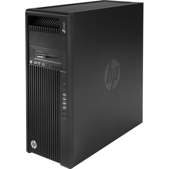 HP Z440 Mini-tower Workstation - 1 x Processors Supported - 1 x Intel Xeon E5-1607 v4 Quad-core (4 Core) 3.10 GHz - Jack
