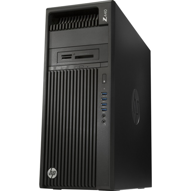 HP Z440 Workstation | 1 x Intel Xeon E5-1650 v4 Hexa-core (6 Core) 3.60 GHz | 16 GB DDR4 SDRAM | 2 TB HDD | 512 GB SSD | NVIDIA Quadro M4000 8 GB Graphics | Windows 10 Pro 64-bit | Mini-tower | Jack Black