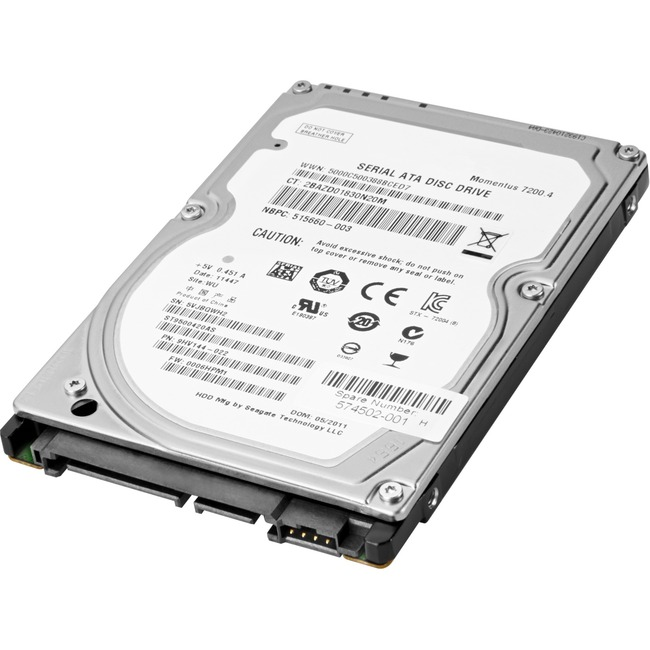 "HP 1 TB Hard Drive - SATA - 2.5"" Drive - Internal"