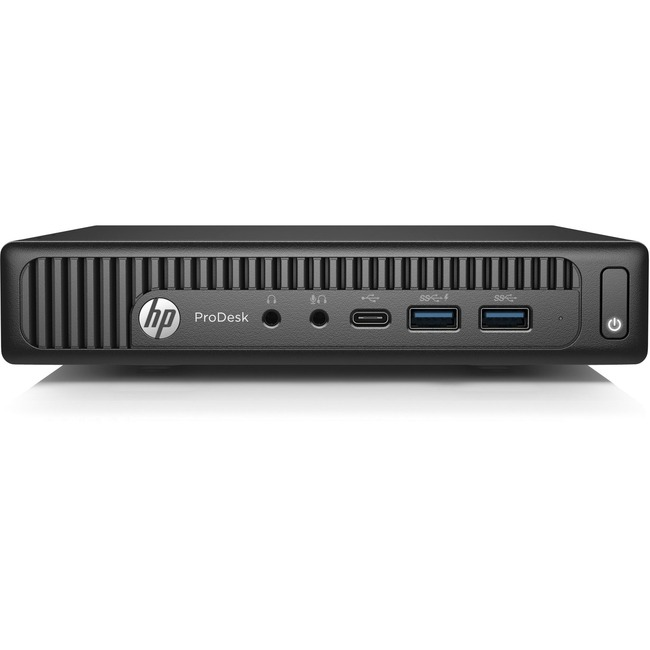 HP Business Desktop ProDesk 600 G2 Desktop Computer - Intel Core i3 (6th Gen) i3-6100T 3.20 GHz - 8 GB DDR4 SDRAM - 256