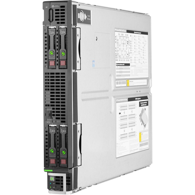 HPE ProLiant BL660c G9 Blade Server - 4 x Intel Xeon E5-4650 v4 Tetradeca-core (14 Core) 2.20 GHz - 128 GB Installed DDR