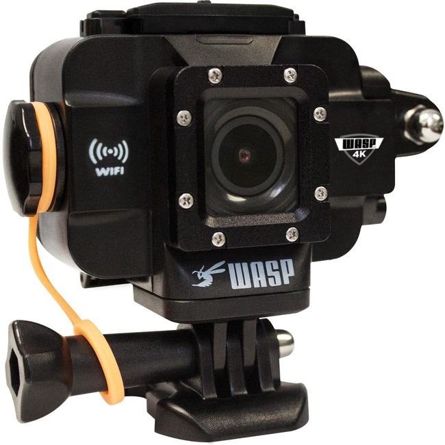 "Cobra WASPcam 9907 Digital Camcorder   1.5"" LCD   CMOS   4K"