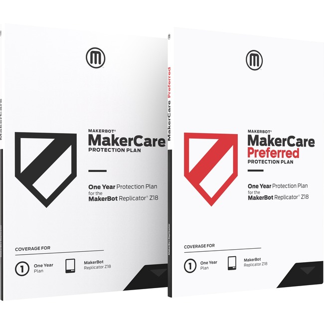 MakerBot MakerCare Preferred Protection Plan - 1 Year - Service