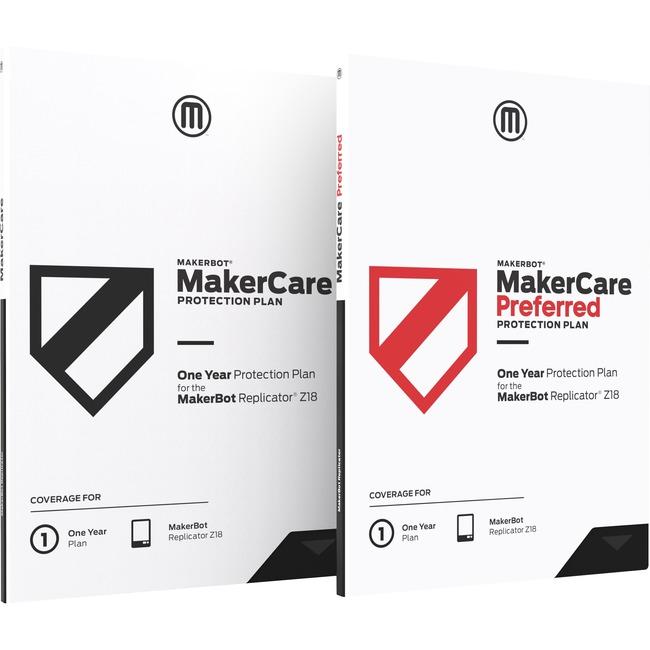 MakerBot 3Yr Preferred MC for Rep Z18