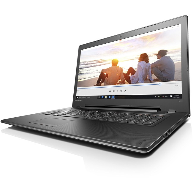 "Lenovo IdeaPad 300-17ISK 80QH0088US 17.3"" 16:9 Notebook - 1600 x 900 - Twisted nematic (TN) - Intel Pentium 4405U Dual-c"