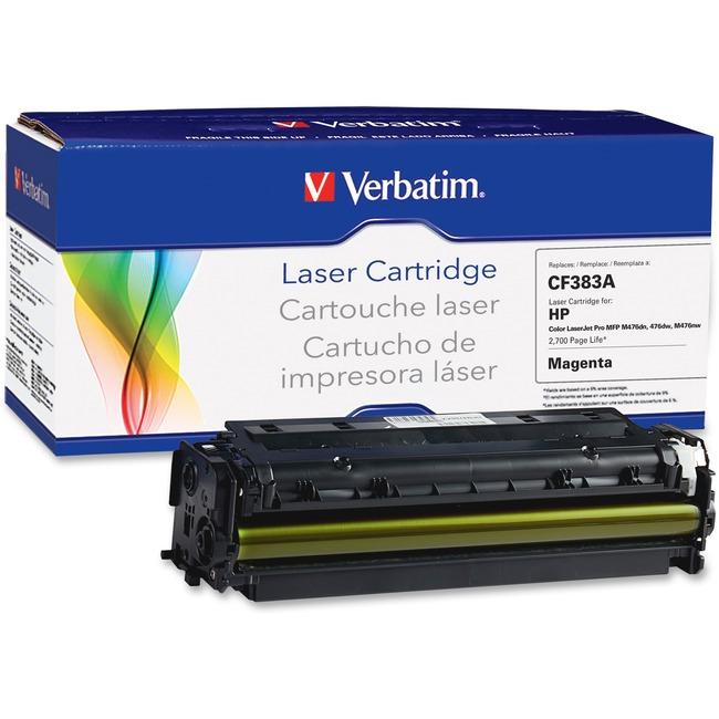 Verbatim Toner Cartridge - Alternative for HP (CE283A) - Magenta