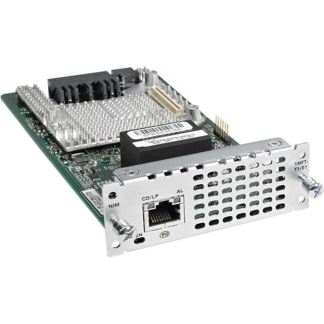 Cisco 1 port Multi-flex Trunk Voice/Clear-channel Data T1/E1 Module