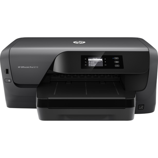 HP Officejet Pro 8210 Inkjet Printer - Color - 2400 x 1200 dpi Print - Plain Paper Print - Desktop