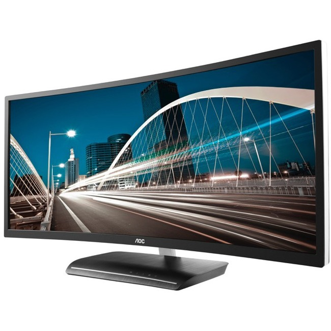 "AOC C3583FQ 35"" LED LCD Monitor - 21:9 - 4 ms"
