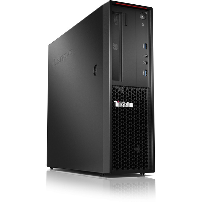 Lenovo ThinkStation P310 30AV001YUS Workstation - 1 x Intel Core i3 (6th Gen) i3-6100 Dual-core (2 Core) 3.70 GHz - Rave