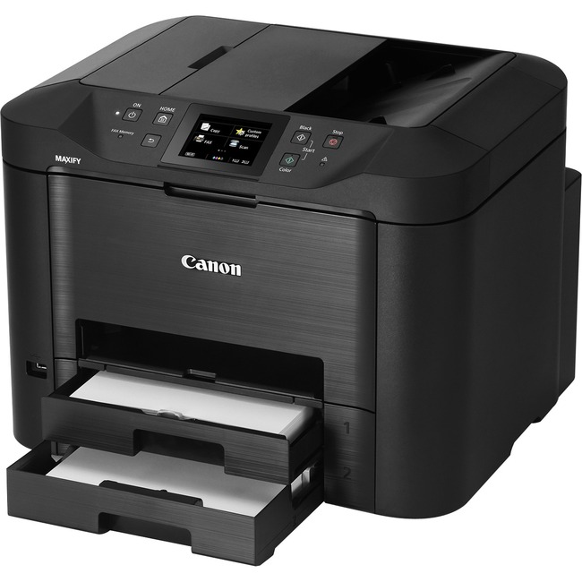 Canon MAXIFY MB5420 Inkjet Multifunction Printer - Color - Plain Paper Print - Desktop