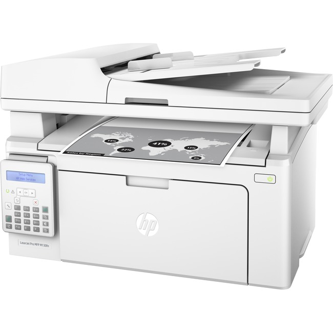HP LaserJet Pro M130fn Laser Multifunction Printer - Monochrome - Plain Paper Print - Desktop